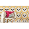TAPETA PANDA KIDS COLOR BANANA LAMINAT