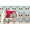 TAPETA PANDA KIDS COLOR BABY BLUE LAMINAT