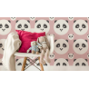 TAPETA PANDA KIDS COLOR BABY PINK LAMINAT